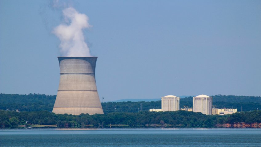 Nuclear Power Plant in Russellville Arkansas.
