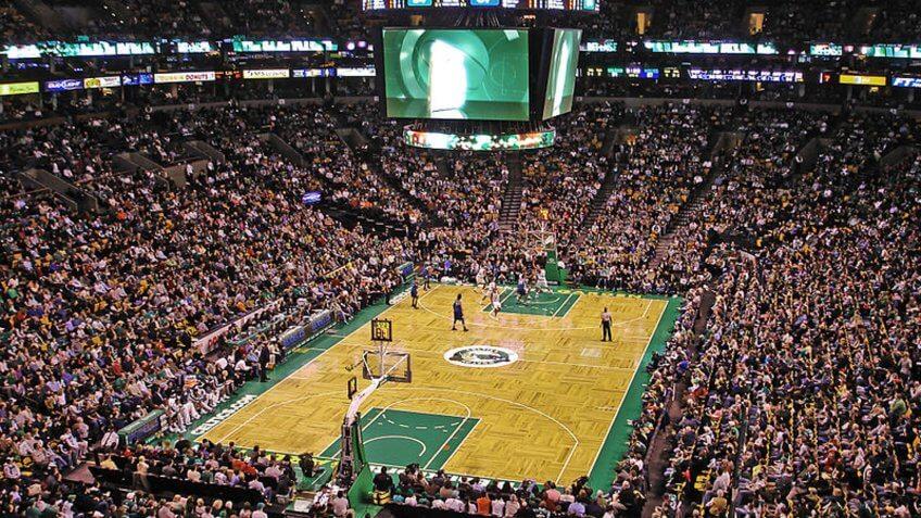 TD Garden Boston Celtics stadium