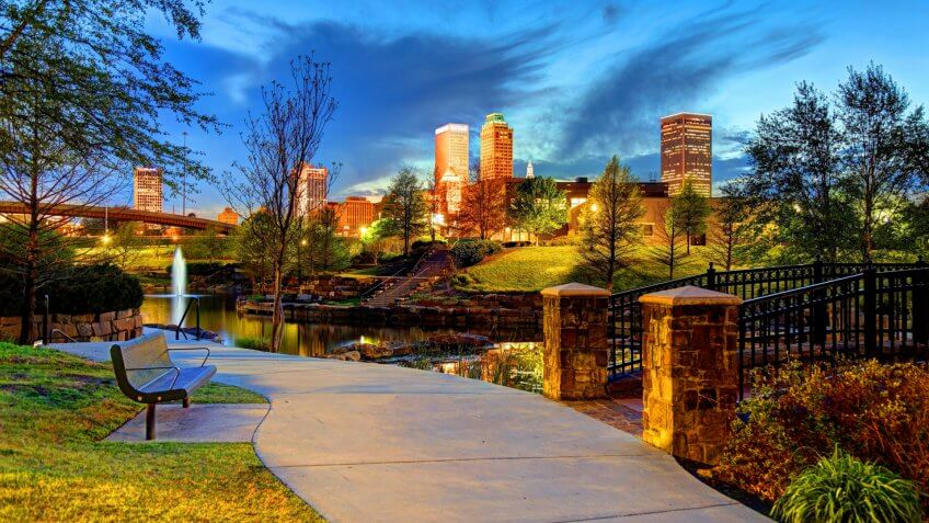 Tulsa is the second-largest city in the state of Oklahoma and 47th-most populous city in the United States.