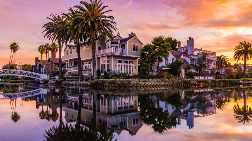 House at the Venice Canals.