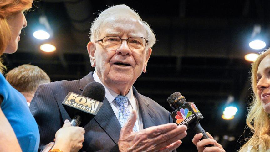 Warren Buffett speaks with CNBC