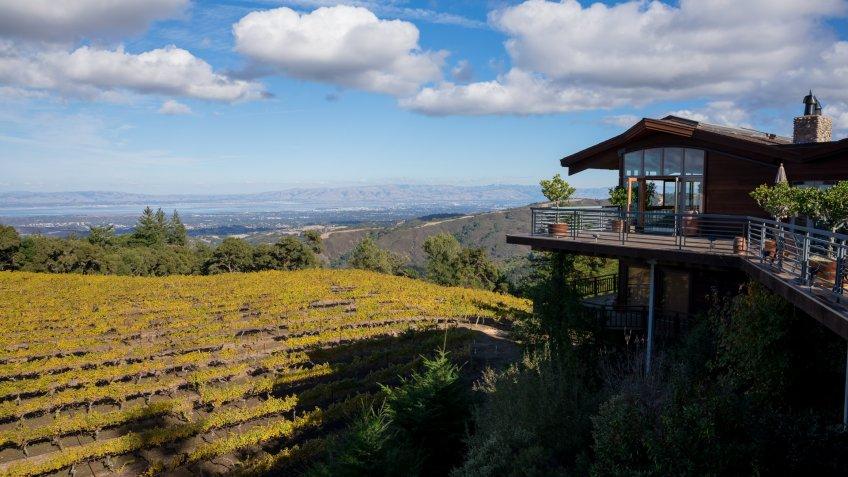 Winery Wedding Venue View - Image.