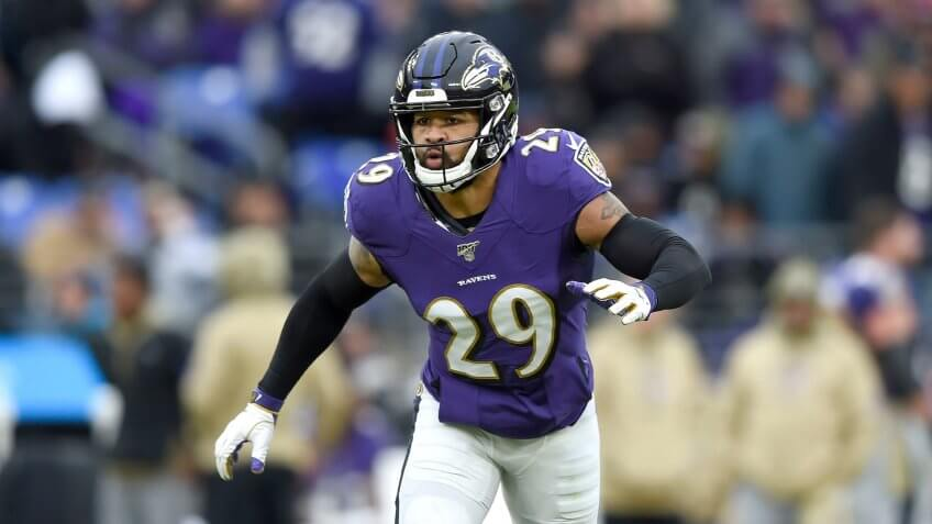 Baltimore Ravens free safety Earl Thomas