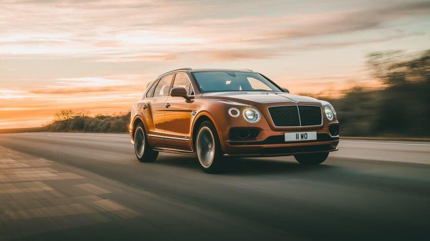 Bentley Bentayga Speed.