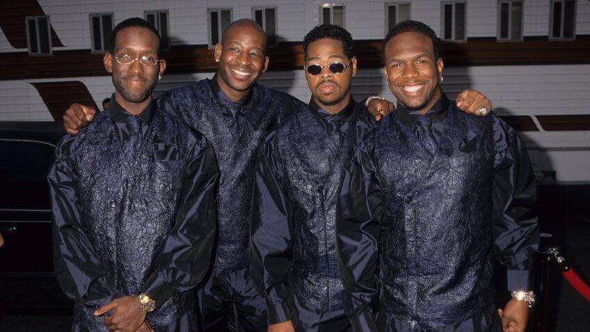 Boyz II Men in 1998
