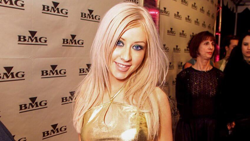Christina Aguilera attends BMG Party at the 42nd Annual Grammy AwardsFebruary 23, 2000 Los Angeles, CA Christina AguileraBMG Entertainment Party following the 42nd Annual Grammy Awards.