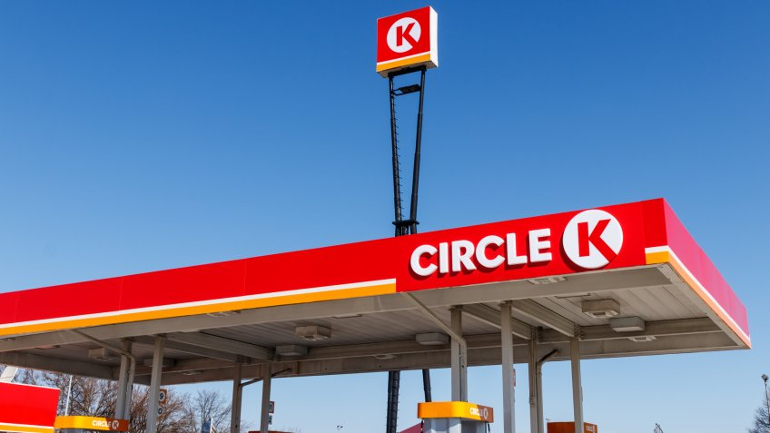 Lafayette - Circa April 2019: Circle K retail gas station location.