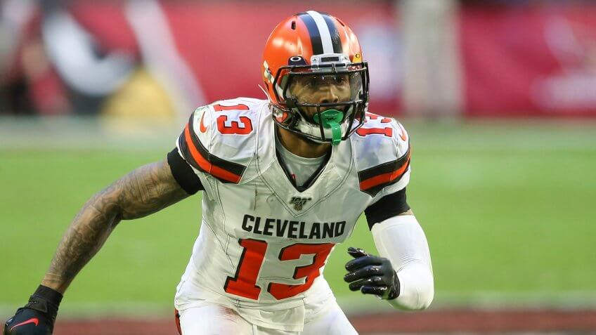 Cleveland Browns wide receiver Odell Beckham Jr.
