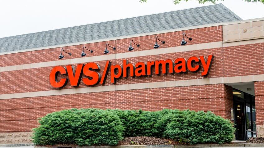 ATLANTA, GEORGIA - May 21, 2014: CVS began in 1963 in Lowell Mass.