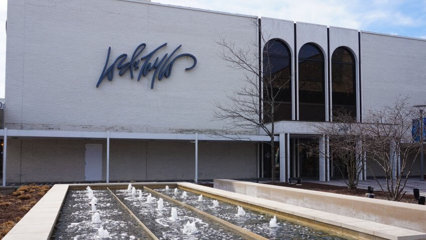 Lord & Taylor is a department store in the United States, Oak Brook, IL April 22, 2018.