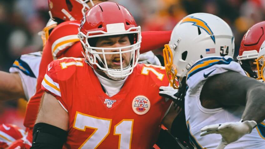Kansas City Chiefs offensive tackle Mitchell Schwartz