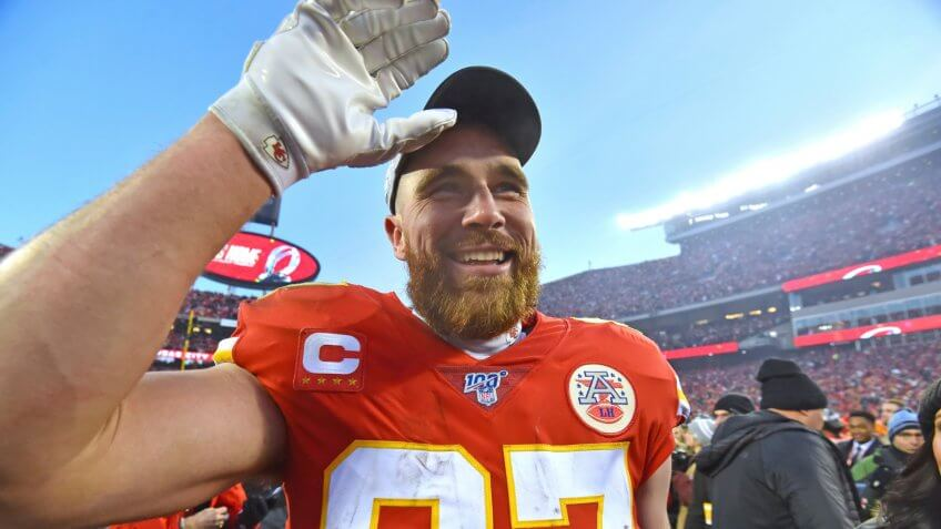 Kansas City Chiefs tight end Travis Kelce
