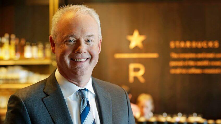Kevin Johnson Starbucks CEO