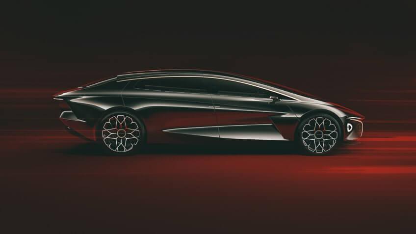 Lagonda Vision Concept Car Exterior.