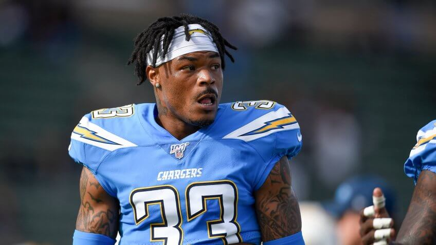 Los Angeles Chargers free safety Derwin James