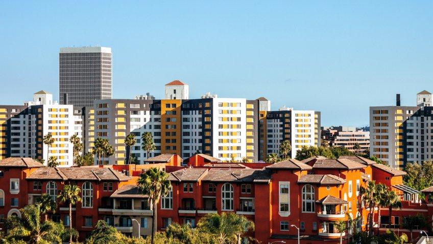 Los Angeles residential area - La Brea.