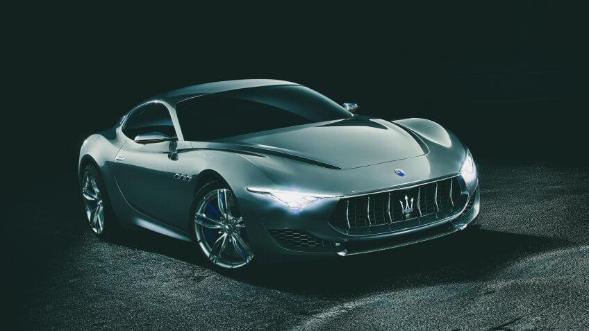 Maserati Alfieri concept car.