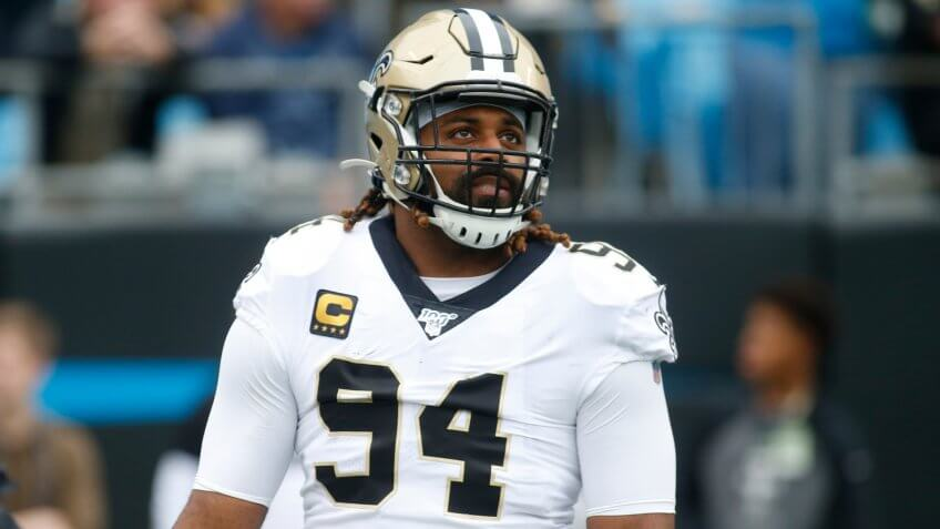 New Orleans Saints defensive end Cameron Jordan