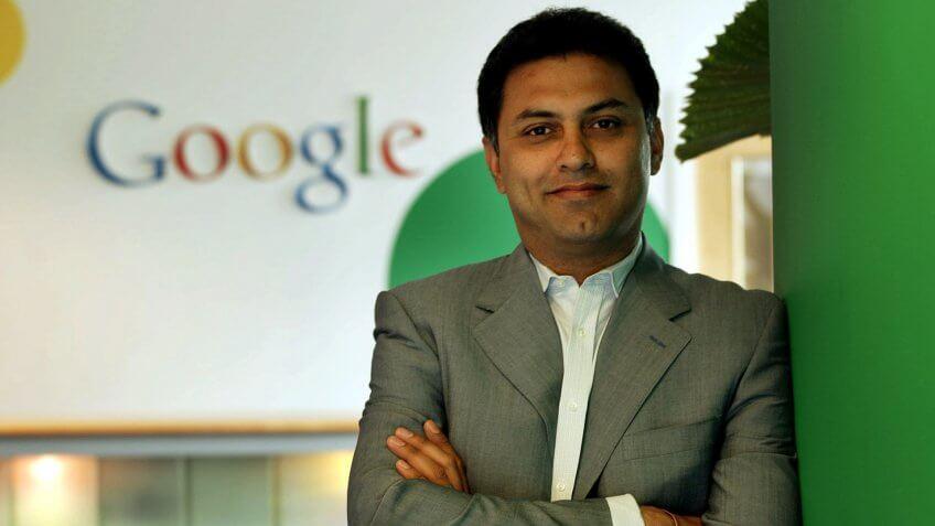Nikesh Arora former Google Google executive