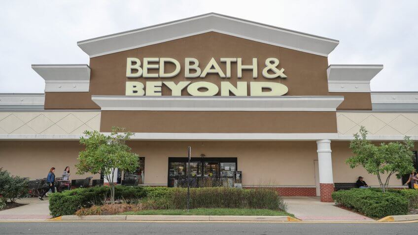 Philadelphia, Pennsylvania, October 19 2017: Bed Bath & Beyond Inc.