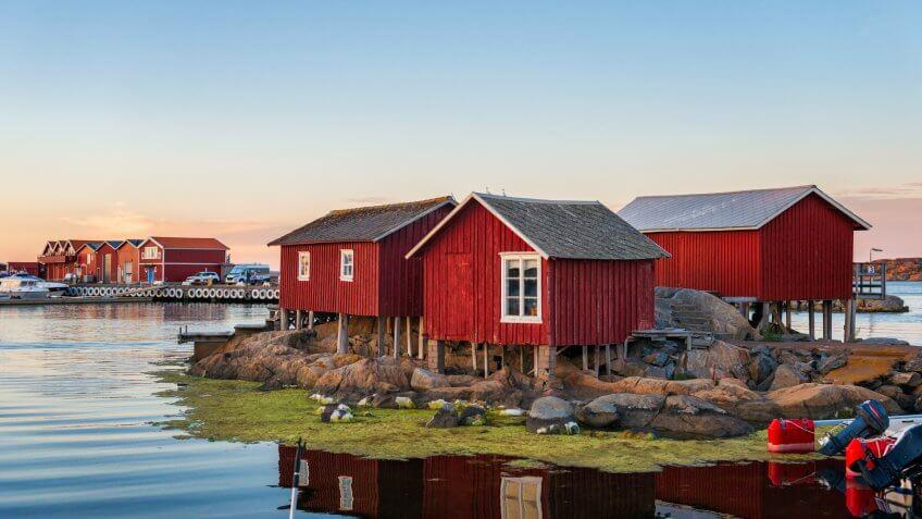 Idyllic Swedish west coast.