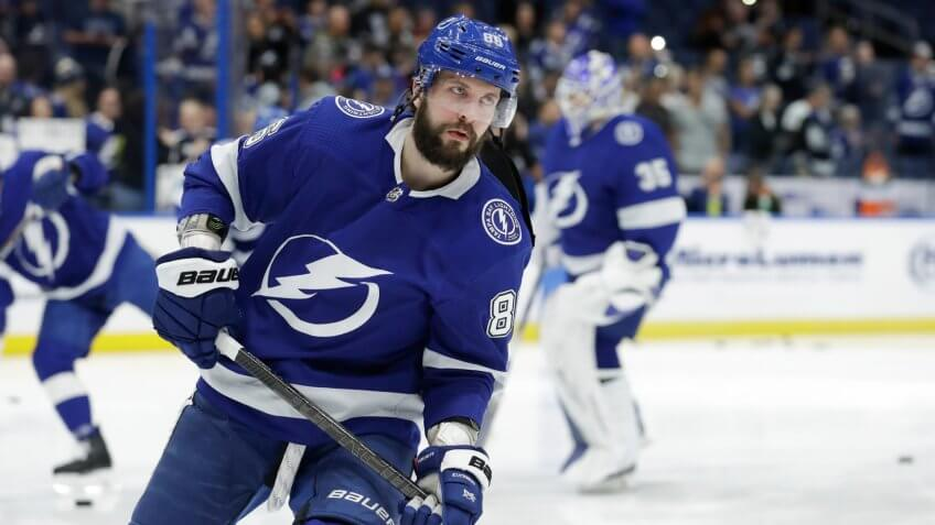 Tampa Bay Lightning right wing Nikita Kucherov