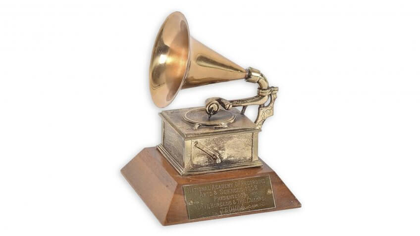 The Champs Tequila Grammy 1958-Nate-D-Sanders.