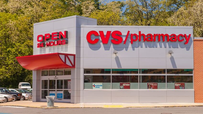 ARLINGTON, VIRGINIA, USA - APRIL 29, 2010: CVS pharmacy store.