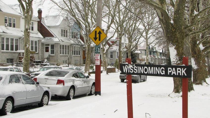 Wissinoming Park, Philadelphia, Pennsylvania.