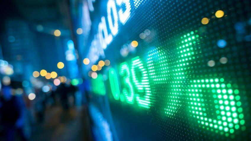 stock market increase percentage