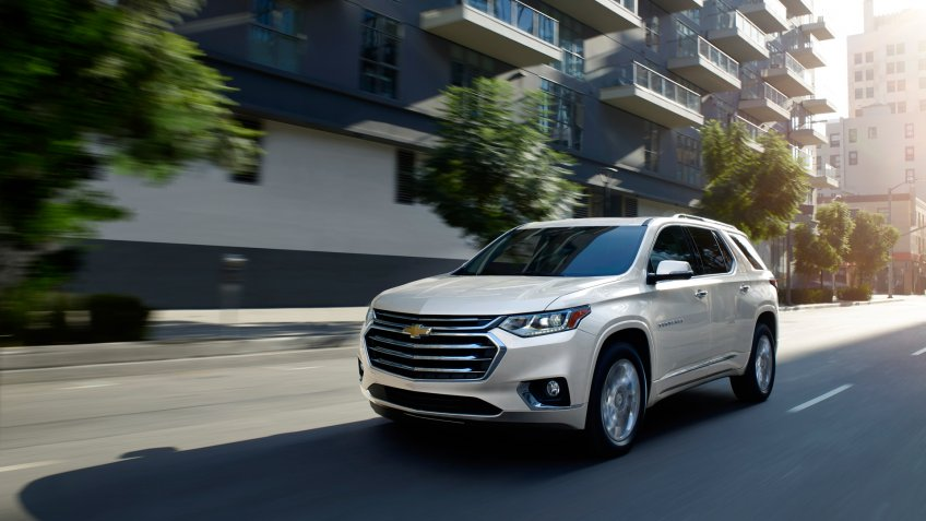 2020 Chevrolet Traverse High Country.