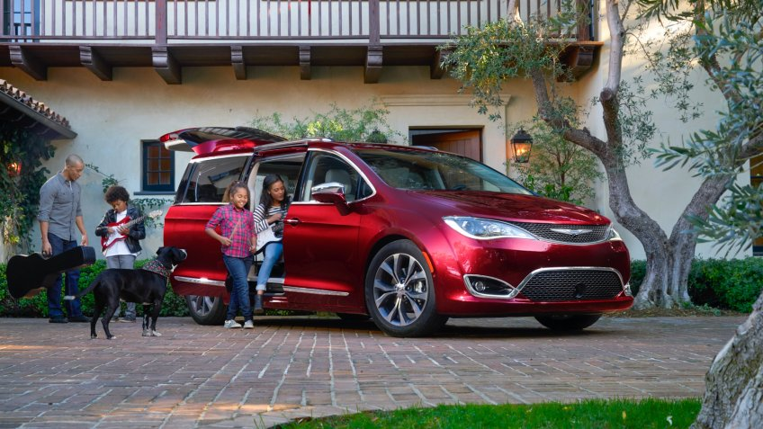 2020 Chrysler Pacifica.
