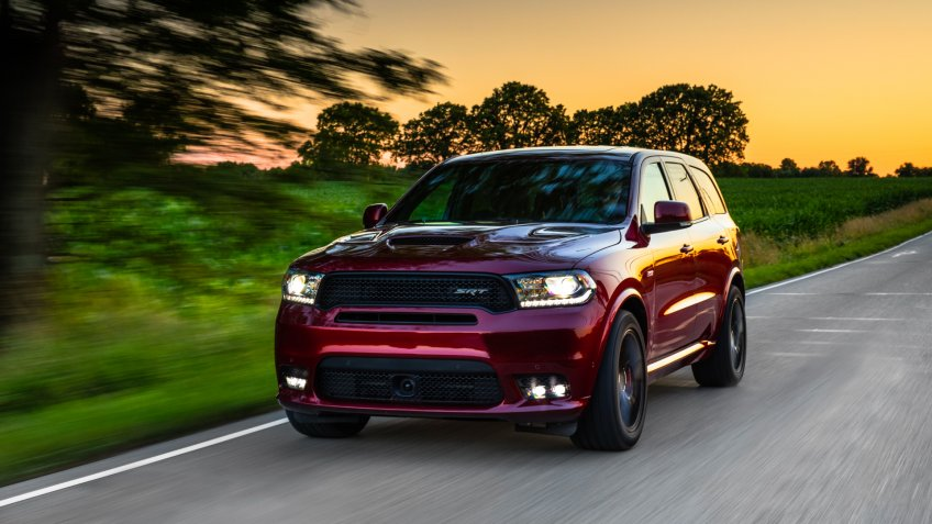 2020 Dodge Durango SRT.