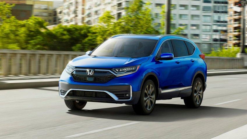 2020 Honda CR-V Hybrid.