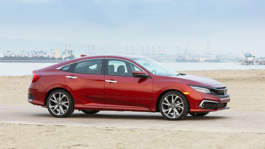 2020 Honda Civic Sedan Touring.