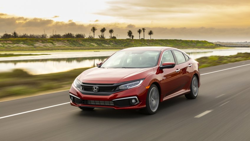 2020 Honda Civic Sedan Touring.