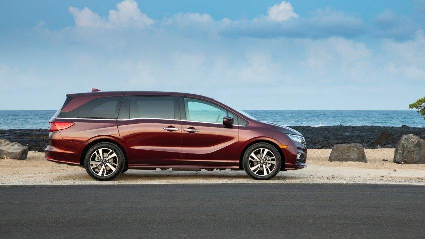 2019 Honda Odyssey.