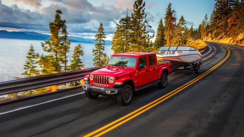 2020 Jeep® Gladiator Overland.