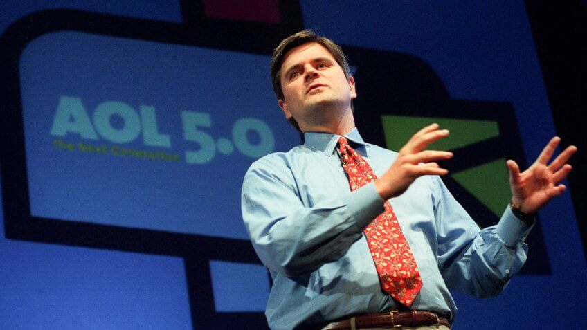 CASE Steve Case, chairman and chief executive officer of America Online Inc.
