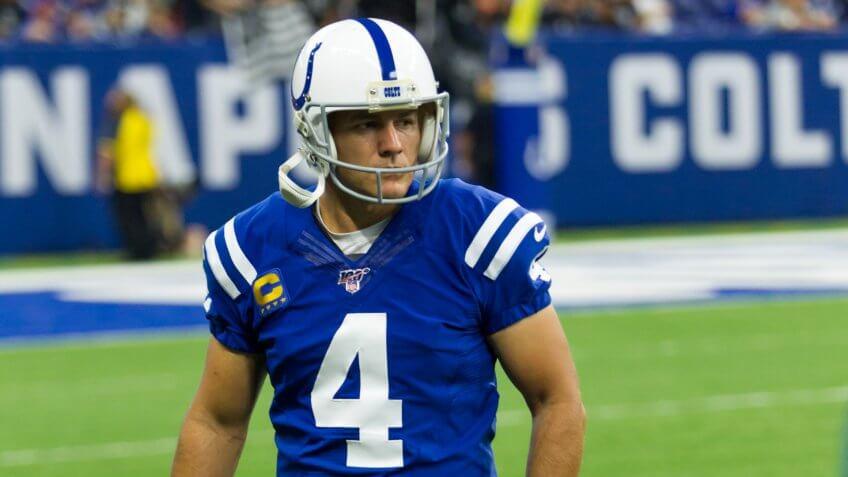 Adam Vinatieri no. 4 - Indianapolis Colts host the Oakland Raiders on Sept.