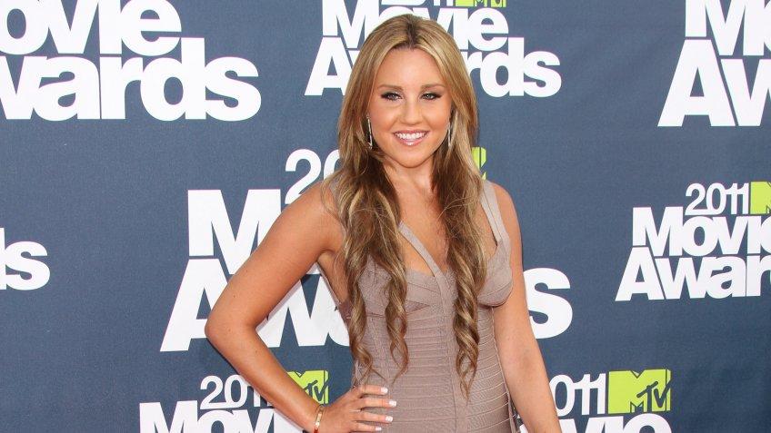 Amanda Bynes 2011 MTV Movie Awards, Los Angeles, America - 05 Jun 2011.