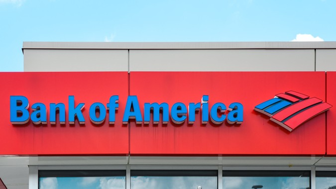 Bank of America retail location in Raleigh, NC