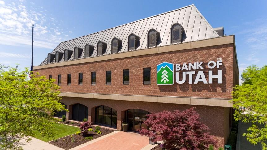 Bank of Utah.
