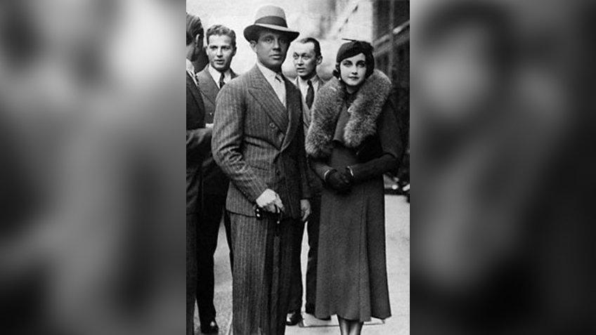 Barbara Hutton and husband Prince Alexis Mdivani