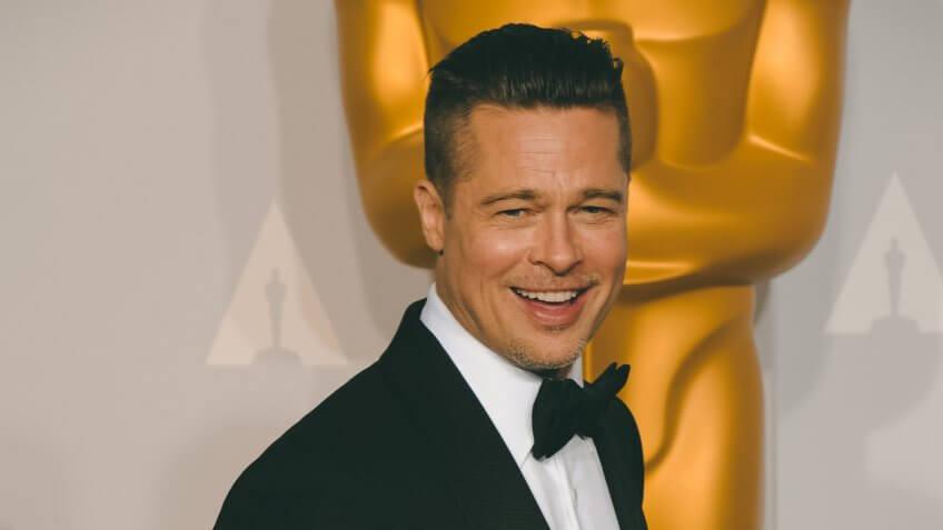 Brad Pitt richest oscar winner