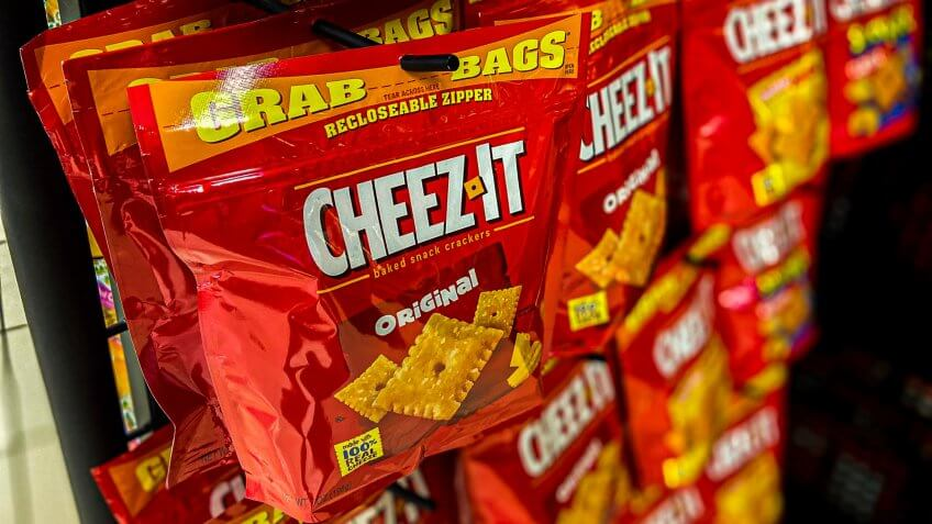 Cheez-It single bag