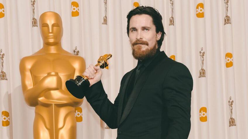 Christian Bale 83rd Annual Academy Awards, Press Room, Los Angeles, America - 27 Feb 2011.