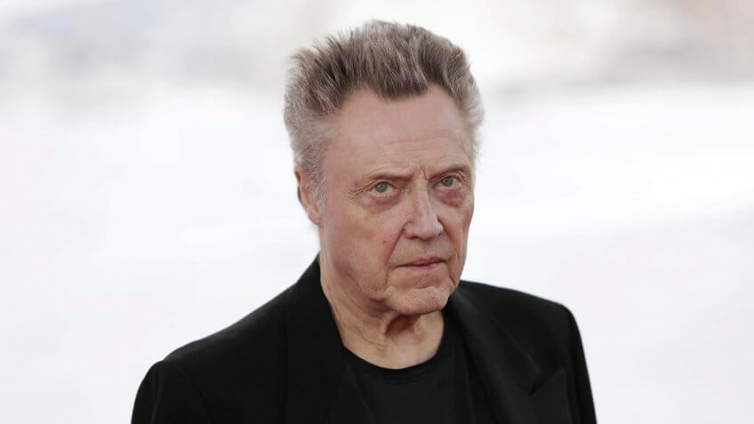 Us Actor Christopher Walken Poses For Photgraphers at the 49th Sitges International Fantastic Film Festival in Sitges Barcelona Spain 13 October 2016 Walken Will Receive the Honorary Award For His Professional Career at the Festival That Runs From 07 to 16 October Spain SitgesSpain Cinema Sitges - Oct 2016.