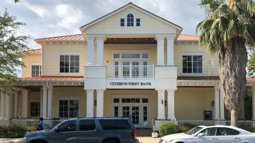 Citizens First Bank.