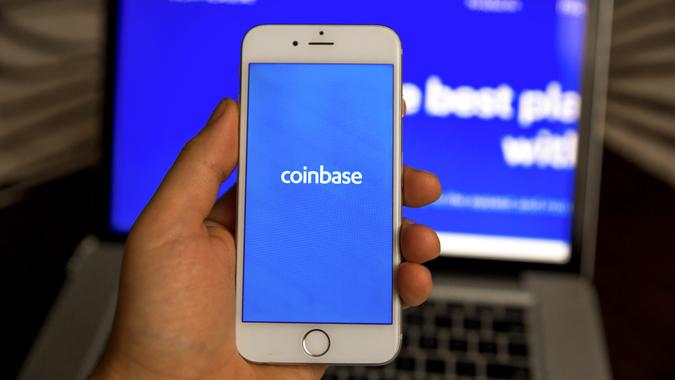 Coinbase app for cryptocurrency trading